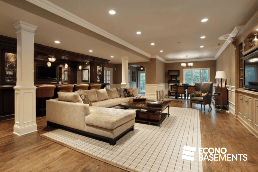 Basement Development Services - Featured Images - Econo Basements